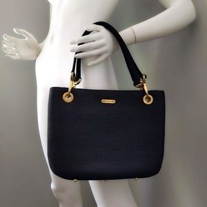 Vtg Eric Javits Squishee Plastic Straw Tote Bag